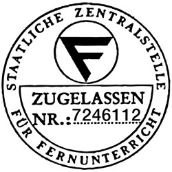 ZFU-Zulassung der afs-Akademie